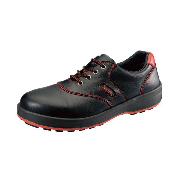 シモン SL11R クロ/アカ265 JIS安全靴 SL11Rクロ/アカ265