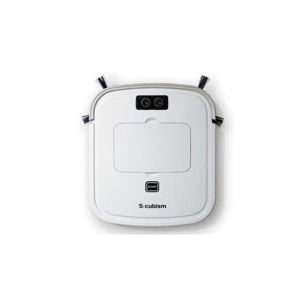 A-Stage[SCC-R05PW] 床用薄型 ロボット掃除機 パールホワイト / シャンパンゴールド SCCR05PW