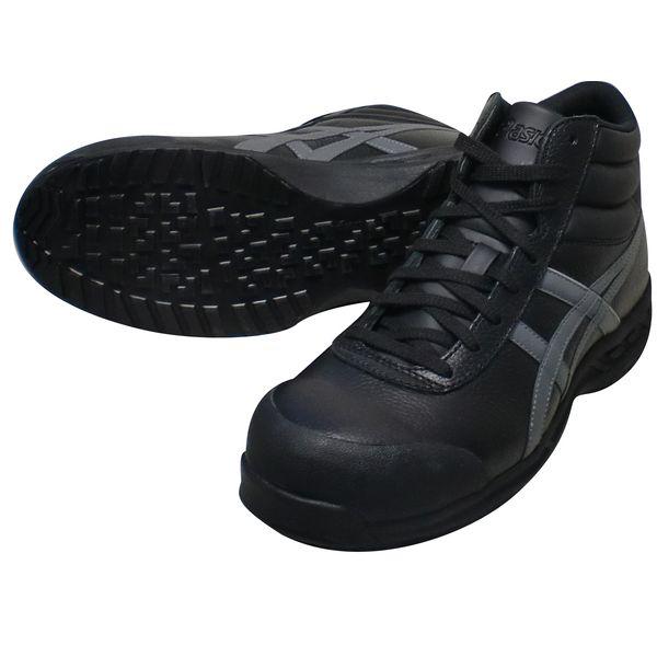 アシックス 4547559913017 FFR71S ウィンジョブ ブラック × ガンメタル 28.0cm