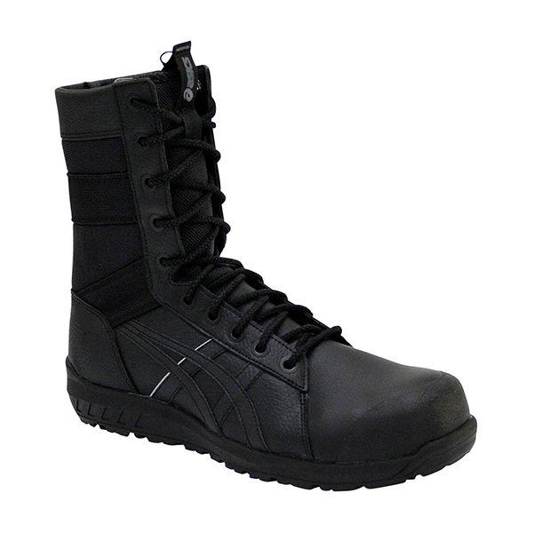 アシックス[4549957721294] CP402 ウィンジョブ ブラック × ブラック 25.5cm