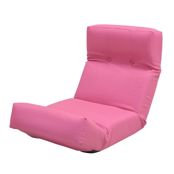 【完成品】JKプラン ZSY-NHBCK-PK 直送 代引不可・他メーカー同梱不可 新ハイバックチェアZSYNHBCKPK ハイバック チェア 座椅子 ハイバック座椅子 日本製 リクライニング 1人掛け 1人用