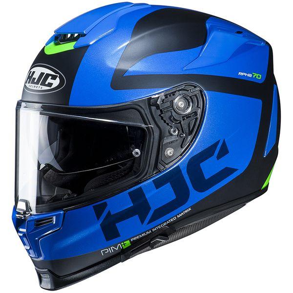 HJC エイチジェイシー 4997035007332 RPHA70 BALIUS ブルー【MC2SF】 【サイズ:L】HJH165
