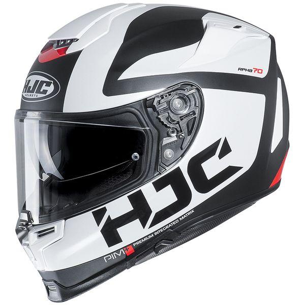 HJC エイチジェイシー 4997035012077 RPHA70 BALIUS ホワイト【MC10SF】 【サイズ:L】HJH165