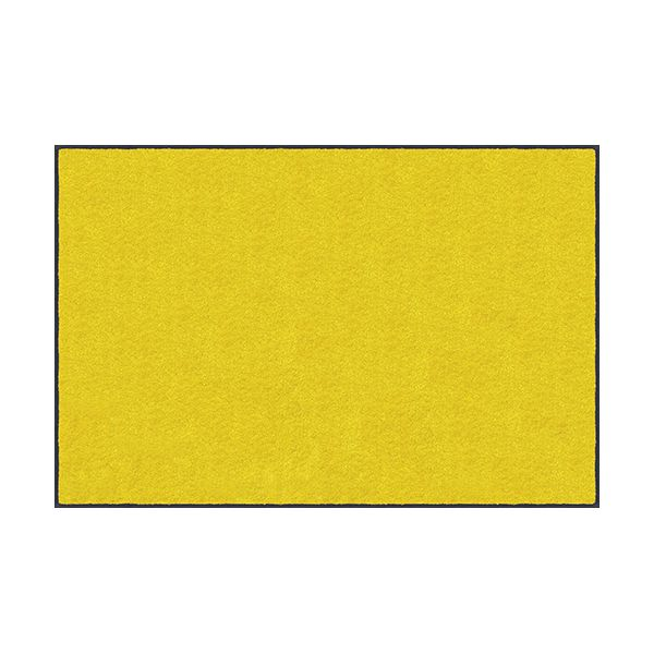 【個数:1個】クリーンテックスジャパン[AM00058]「直送」【代引不可・他メーカー同梱不可】 スタンダードマットS イエロー 90 x 120 cm
