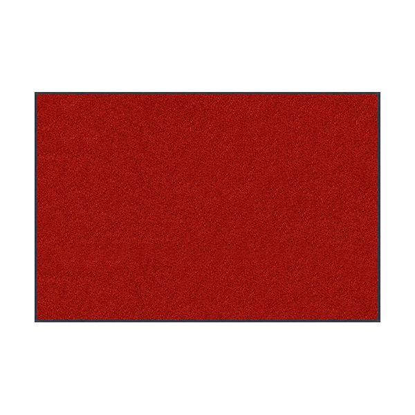 【個数:1個】クリーンテックスジャパン[AM00061]「直送」【代引不可・他メーカー同梱不可】 スタンダードマットS ダーク・レッド 90 x 120 cm