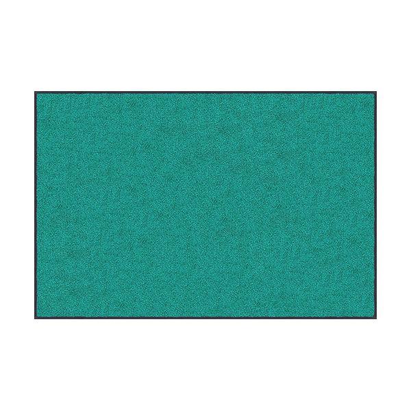 【個数:1個】クリーンテックスジャパン[AM00064]「直送」【代引不可・他メーカー同梱不可】 スタンダードマットS ジェイド・グリーン 90 x 120 cm