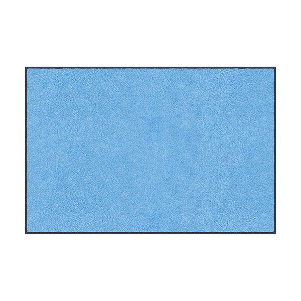【個数:1個】クリーンテックスジャパン[AM00067]「直送」【代引不可・他メーカー同梱不可】 スタンダードマットS スカイ・ブルー 90 x 120 cm