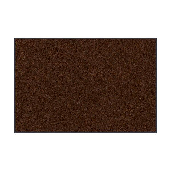 【個数:1個】クリーンテックスジャパン AM00072 直送 代引不可・他メーカー同梱不可 スタンダードマットS ココア・ブラウン 90 x 120 cm