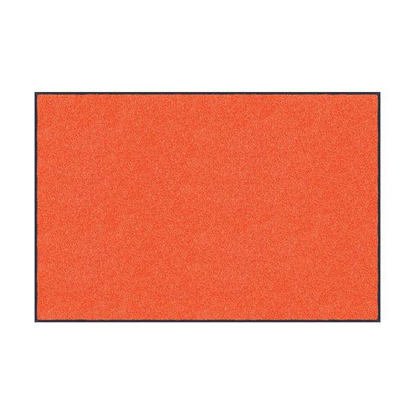 【個数:1個】クリーンテックスジャパン[AM00078]「直送」【代引不可・他メーカー同梱不可】 スタンダードマットS オレンジ 90 x 150 cm