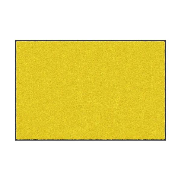 【個数:1個】クリーンテックスジャパン[AM00191]「直送」【代引不可・他メーカー同梱不可】 スタンダードマットS イエロー 75 x 120 cm