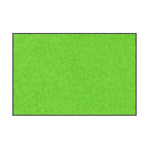 【個数:1個】クリーンテックスジャパン AM00588 直送 代引不可・他メーカー同梱不可 スタンダードマットS ライム・グリーン 90 x 180 cm