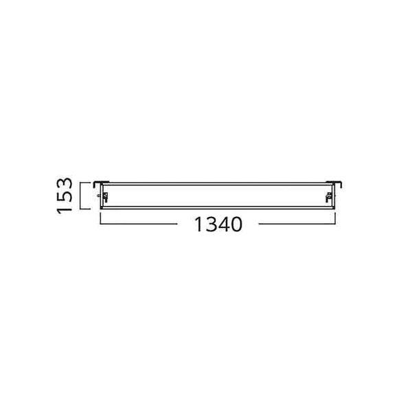 【個数:1個】【個人宅配送不可】アルインコ ALINCO HPKS1340 直送 代引不可・他メーカー同梱不可 ローリングタワー【移動式足場】 RT用 妻面幅木