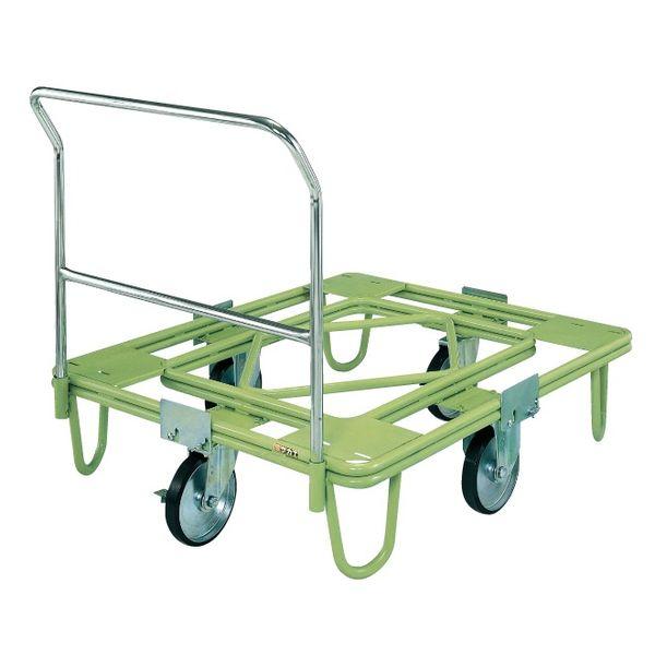 【最安値挑戦】 自在移動回転台車【200φゴム車・取手付】 【個人宅配送】サカエ 直送 ・他メーカー同梱 RE5TG:測定器・工具のイーデンキ RE-5TG SAKAE-DIY・工具