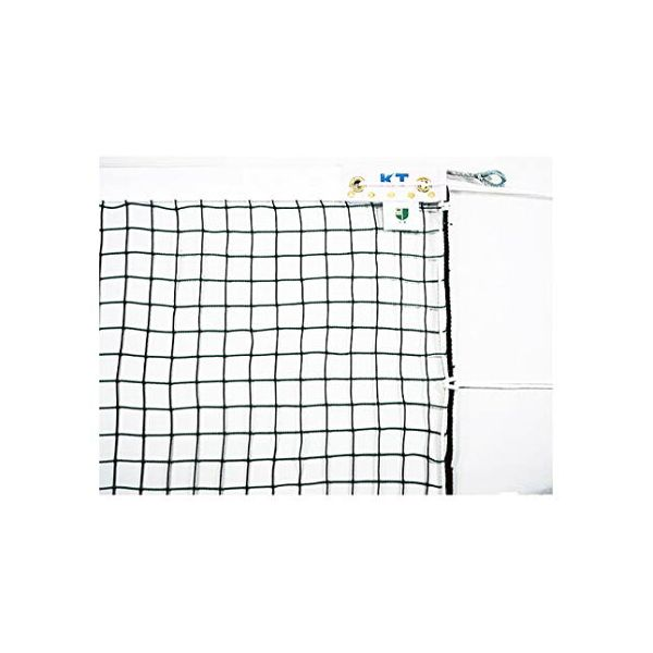 [KT5214]KT 無結節ソフトテニスネット 日本製 太さ:440T(400d)/44本