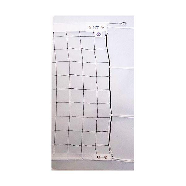 [KT109]KTネット 周囲ロープ式 6人制バレーネット 日本製