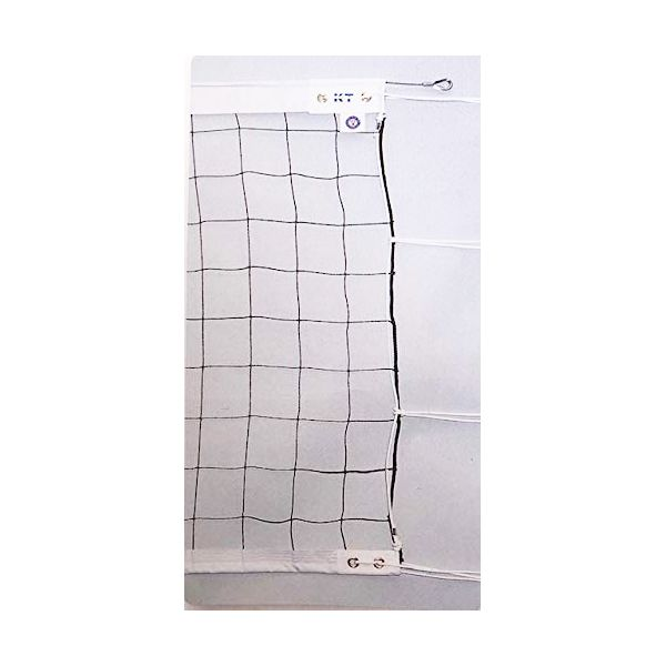[KT4109]KTネット 周囲ロープ式 6人制バレーネット 日本製