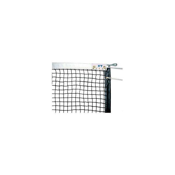 [KT4263]KTネット 全天候式ポリエチレンブレード 硬式テニスネット サイドポール挿入式 センターストラップ付き 日本製