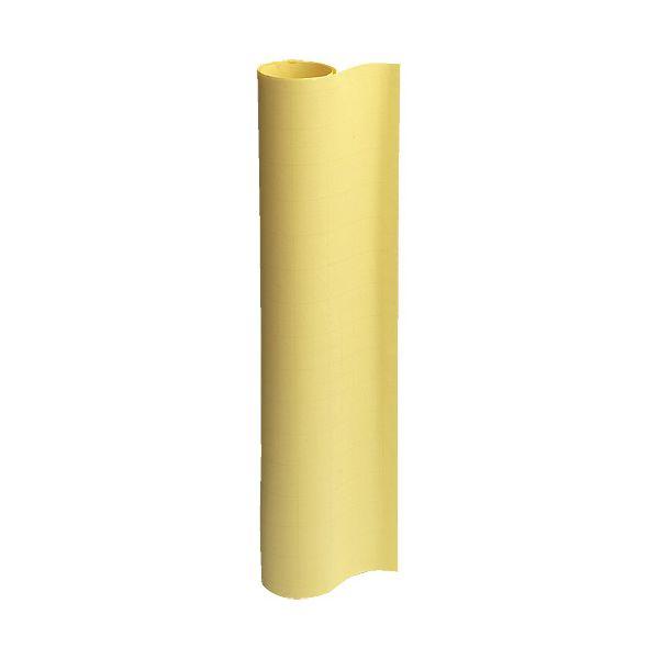 スマートバリュー P150J-Y6 方眼模造紙50枚巻き6個 イエロー P150JY6