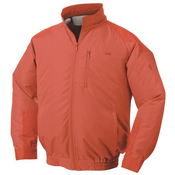 【個数:1個】NSP[4582397505666]「直送」【代引不可・他メーカー同梱不可】NA-101 空調服(服 L) オレンジ・チタン・タチエリ
