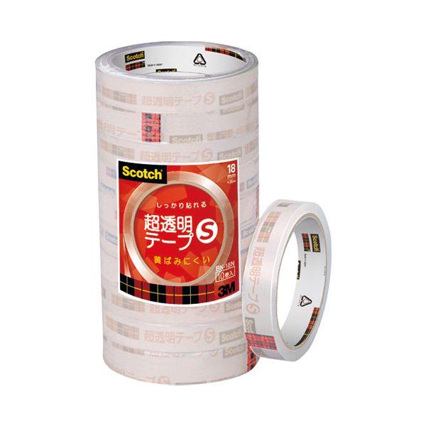 2147345265416 スリーエム ジャパン 超透明テープS BK-18N 工業用包装 200巻