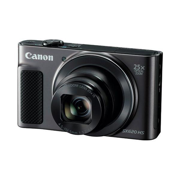 【ポイント最大29倍 3月25日限定 要エントリー】4549292057324 キヤノン デジタルカメラ PSSX620HS ブラック PSSX620HS BK