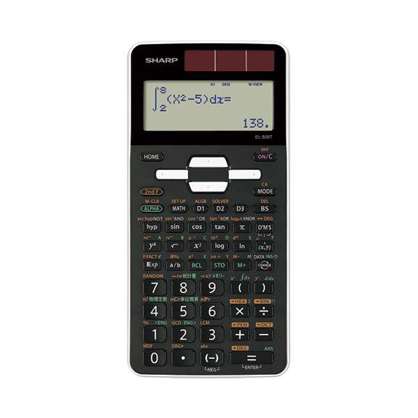 4974019886053 シャープ 関数電卓 EL-509T-WX