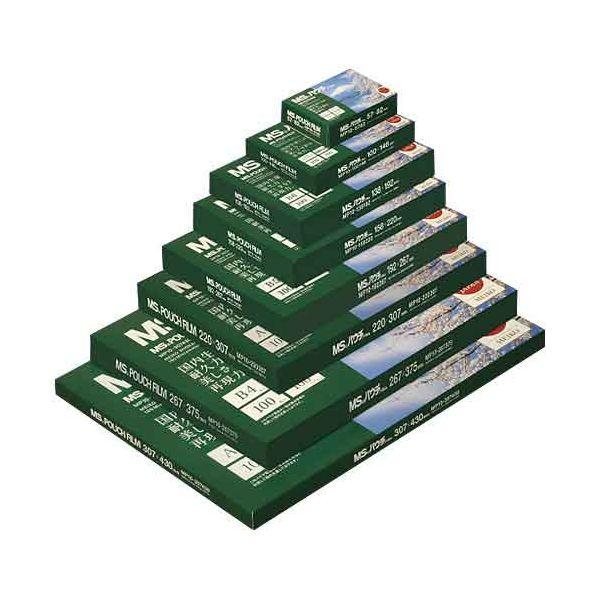 4993460231847 明光商会 パウチフイルム MP10-220307 A4 100枚 5箱