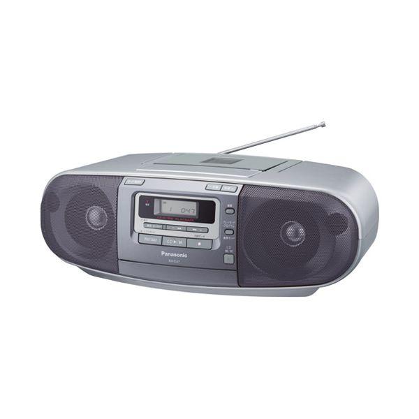 4549077758880 Panasonic ポータブルCDシステムRX-D47-S
