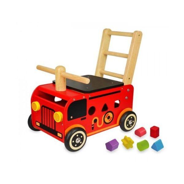 IM-87480 I'm TOY ウォーカー&ライド 消防車