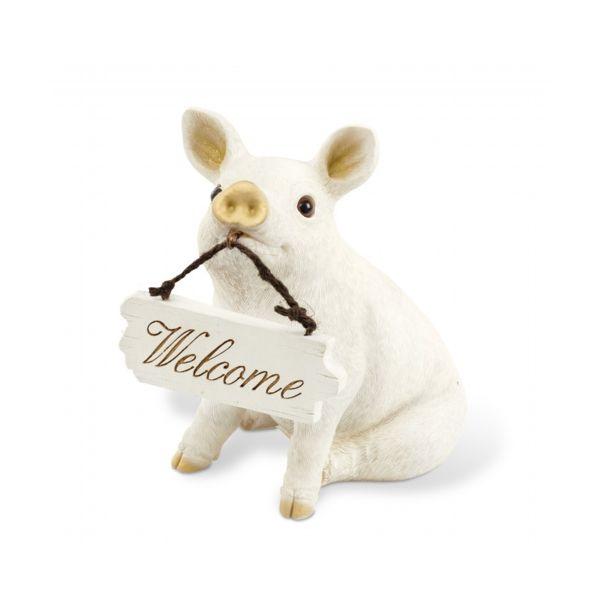 4952317610969 【5個入】 WELCOME PIG WELCOME ORNAMENT KH-61096