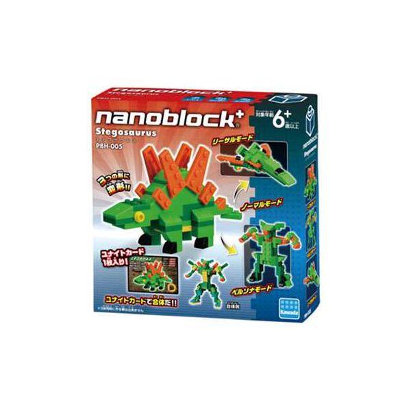 4972825201039 【18個入】 PBH-005 nanoblock+ ステゴサウルス