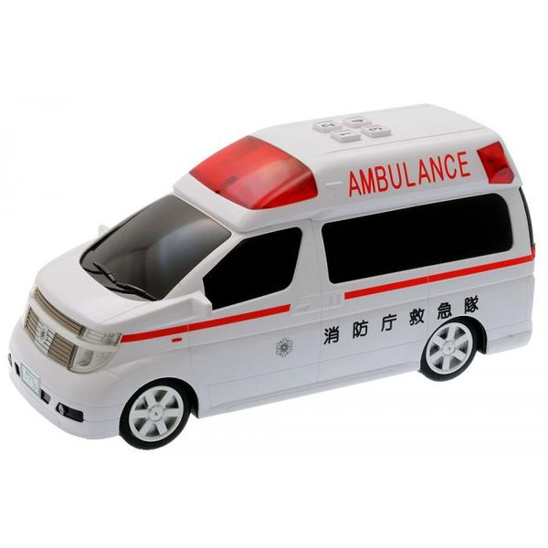 4962603006949 【24個入】ミニサウンドエルグランド救急車