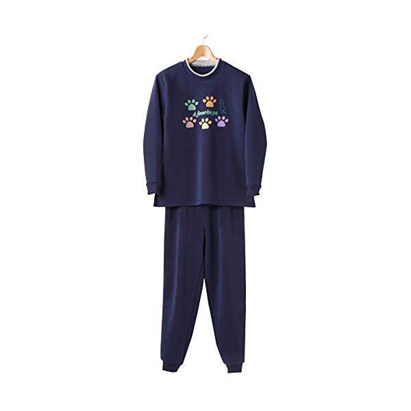 4985697221586 裏起毛パジャマ ネイビー M-L キャンセル不可 セルヴァン 情熱セール ねまき 衣類 kt420395 限定価格セール