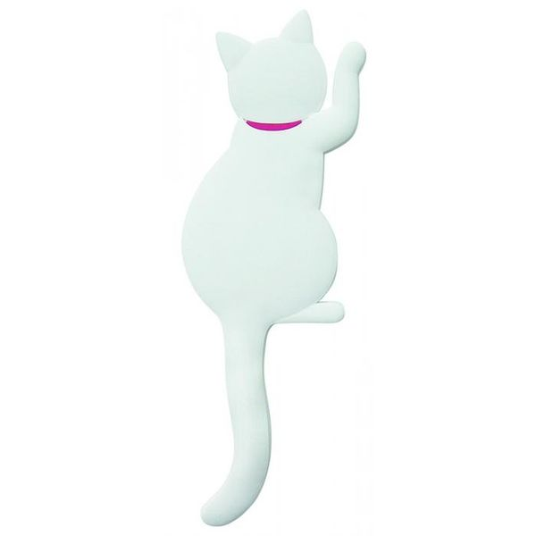 4511546082895 【13個入】 マグネットフック Cat tail キャットテイル シロ