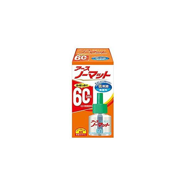 4901080120311 【30個入】 アースノーマット 取替えボトル60日用 無香料1本入