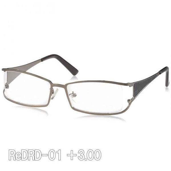 4990091014351 【5個入】 魅せる老眼鏡ReDRD-01 +3.00
