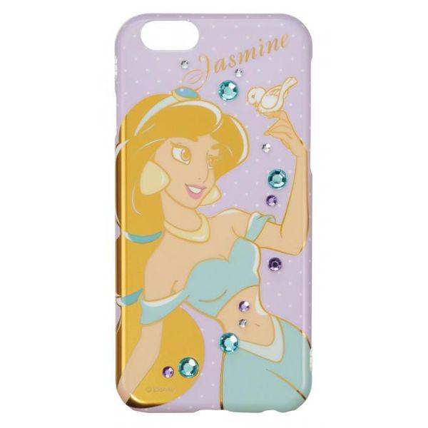 4982416726155 【5個入】 iPhone 7 ディズニージュエリーカバー ジャスミン iP7-DN02