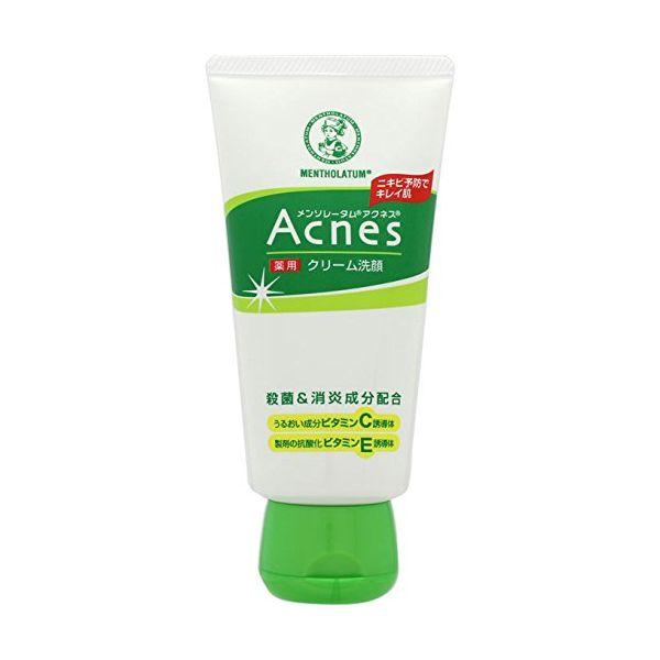 4987241125166 【48個入】 メンソレータム アクネス 薬用クリーム洗顔 130g