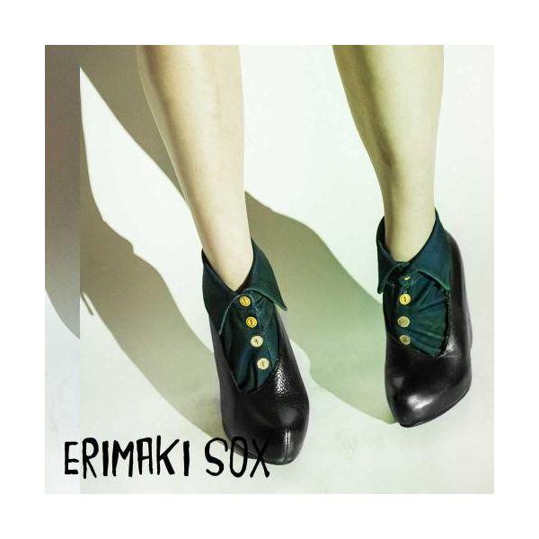 55305 【4個入】 ERIMAKI SOX エリマキソックス タータンチェック ERW-008BLACKWATCH メンズ&レディース 32775