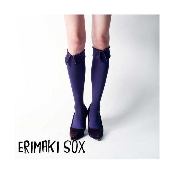 55314 【4個入】 ERIMAKI SOX Hi エリマキソックス ソリッド ERH-001NAVY レディース 32905