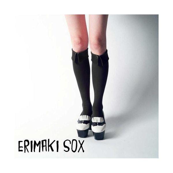 55315 【4個入】 ERIMAKI SOX Hi エリマキソックス ソリッド ERH-001BLACK レディース 32906