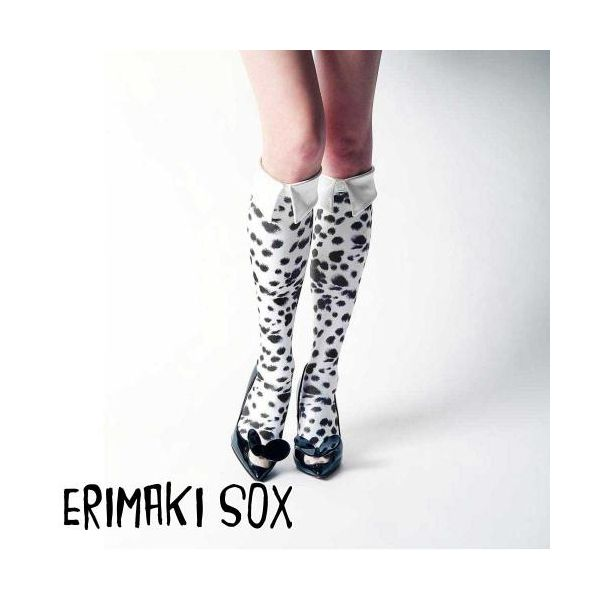 55318 【4個入】 ERIMAKI SOX Hi エリマキソックス ダルメシアン ERH-003WHITE レディース 32908