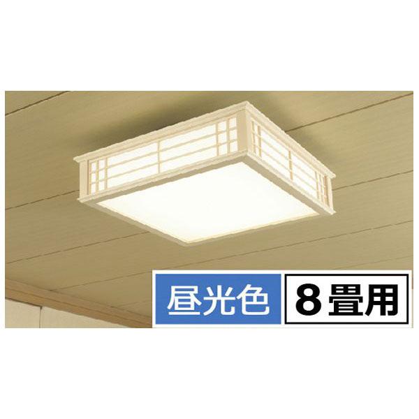オーム電機 06-0654 【天然木使用】LED和風シーリングライト 8畳用/昼光色 LE-W30D8K-K 060654
