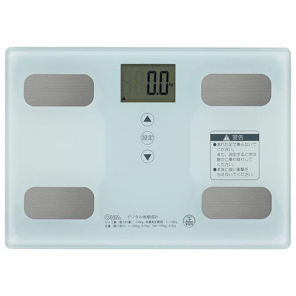 オーム電機 予約販売 08-0491 体重体組成計 未使用 ホワイト 080491 HB-KG11R1-W OHM