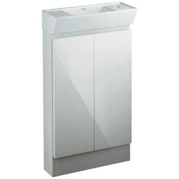 カクダイ[200-311]角型手洗器キャビネットつき 200311