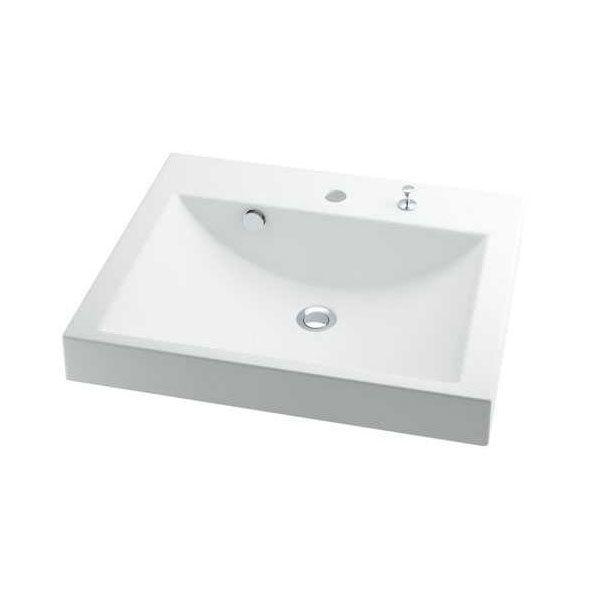 カクダイ 493-072H 角型洗面器 493072H