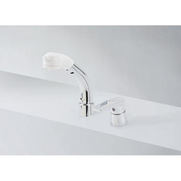 KVK 4952490259023 洗髪シャワー 18度傾斜 シングルレバー式洗髪シャワー 傾斜タイプKM8029T 傾斜タイプ 洗面用シングルレバー式シャワー スーパーセール期間限定 洗面化粧室 KM8029T 予約