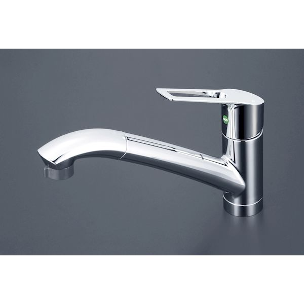 KVK[4952490265710]流台シャワー付混合栓 eレバー