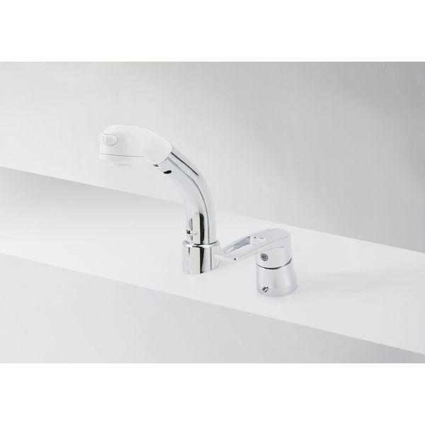 KVK[4952490266403]寒 洗髪シャワー 18度傾斜
