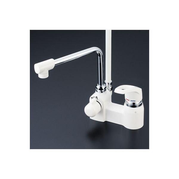 豪華な KVK 4952490275498 未使用 デッキシングルレバーシャワー300P付